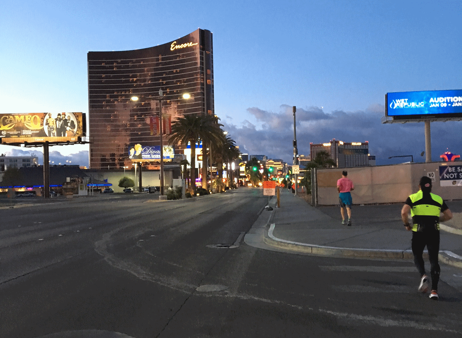 Running Vegas