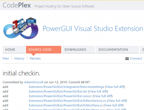 My Experiment – PowerShell Pro Tools for Visual Studio 2017
